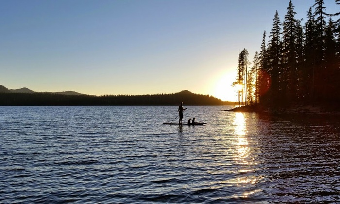 Oregon Outdoor Sports - Oregon Outdoor Sports: $34 for Canoe, Kayak, or Paddleboard Rental from Oregon Outdoor Sports ($69 Value)