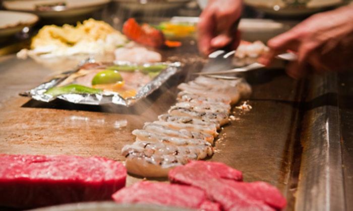 Fuji Steakhouse - Oakley: $12 for $25 Worth of Sushi and Hibachi at Fuji Steak House