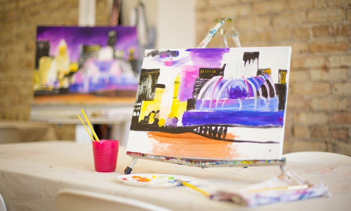 Creativita - Forest Park: 3-Hour BYOB Painting Class at Creativita (Up to 42% Off). Two Options Available.