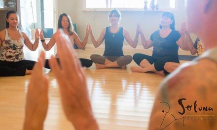 Up to 62% Off Yoga at Soluna Yoga+Spa