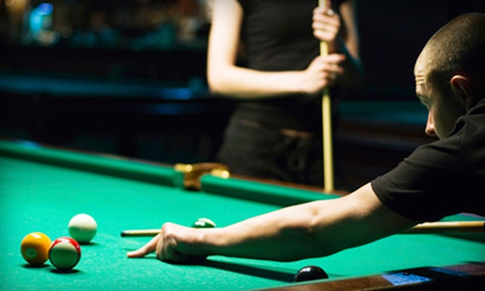 Cue Phoria Billiards and Cafe - Villas of Casselberry: $30 Worth of Billiards and Pub Fare