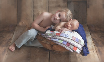 90Minute Newborn Photo Shoot with Prints from Briar Bear Photography (71% Off)