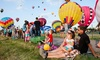The International Balloon Festival on August 8–16 - Municipal Airport: Montgolfieres International Balloon Festival on August 8–16 (Up to 50% Off)