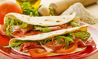 immagine per Menu piadina all you can eat con tagliere di salumi e birra da 19,90 €
