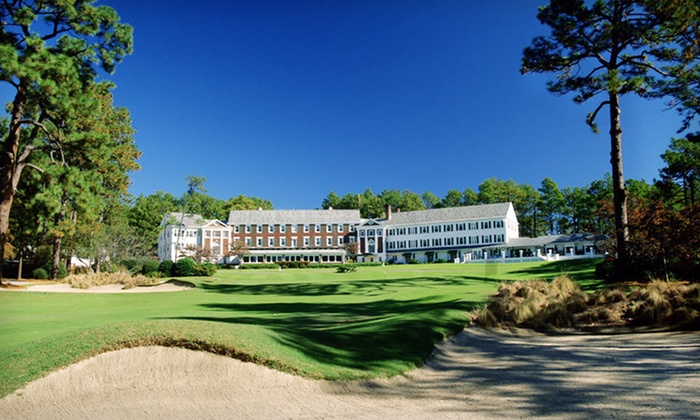 Mid Pines Inn & Golf Club - Southern Pines: One-Night Stay with Option for Golf for Two at Mid Pines Inn & Golf Club in Southern Pines, NC