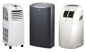 Lg 8,000, 10,000, Or 13,000 Btu Portable Air Conditioning Units (manufacturer Refurbished)