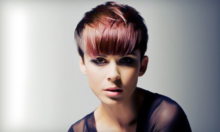 Toni&Guy - Downtown Toronto: Cut, Style, and Blow-Dry with Color or Highlights Option at Toni&Guy (Up to 61% Off)