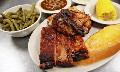 image for American Cuisine at Scruby's <strong>BBQ</strong> (Up to 47% Off)