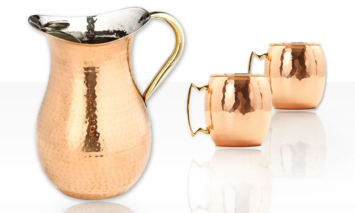 Old Dutch 3-Piece Moscow Mule Set: Old Dutch 3-Piece Moscow Mule Set. Free Returns.