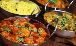 $14 for Two Groupons, Each Good for $14 Worth of Indian Cuisine at Bombay Palace ($28 Value)