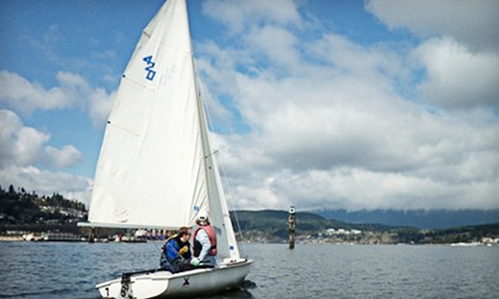 Rocky Point Sailing Association - Port Moody: Three-Hour Sailing Lesson for One or Up to Eight from Rocky Point Sailing Association (Up to 58% Off)