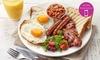 Café Breakfast or Lunch + Drink