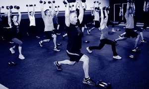 HDX Fit : Eight Weeks of Indoor Boot Camp or Two Private Personal-Training Classes at HDX Fit (Up to 87% Off)