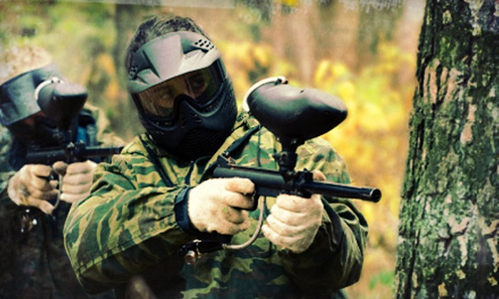 Lehigh Valley Paintball - Hilltown: Paintball Outing with Marker and Ammo for Two, Four, or Eight at Lehigh Valley Paintball (Up to 63% Off)