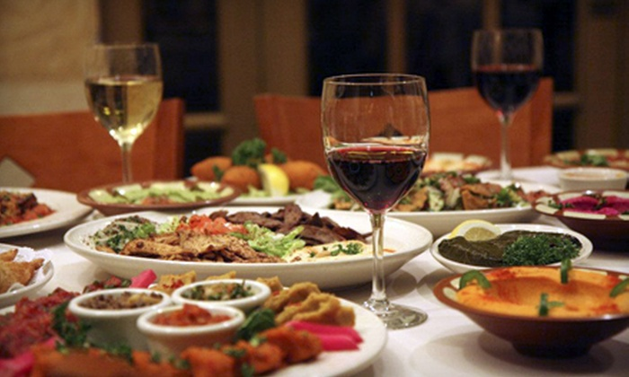 Carousel Restaurant - City Center: Middle Eastern Cuisine with Optional Dance Show at Carousel Restaurant (Up to 51% Off). Four Options Available.