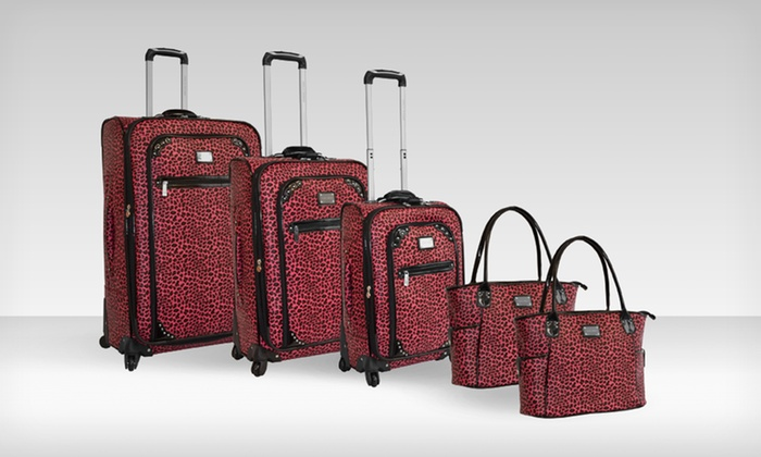 Adrienne Vittadini 5-Piece Luggage Sets: $249.99 for an Adrienne Vittadini 5-Piece Luggage Set ($1,320 List Price). Multiple Patterns. Free Shipping and Returns.
