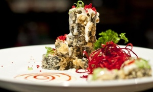 Diva Thai and Sushi Bar: $26 for Sushi Dinner for Two at Diva Thai and Sushi Bar ($51 value)