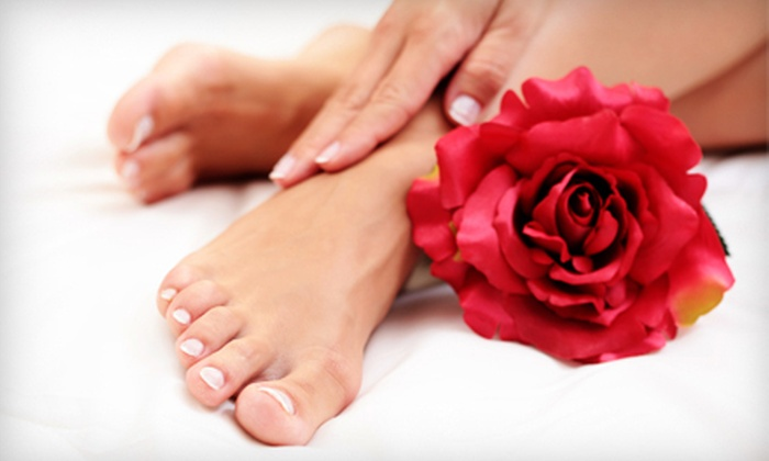 Appearance Plus Day Spa - Spa Springs: One, Three, or Five Mani-Pedis at Appearance Plus Day Spa in Metuchen (Up to 59% Off)