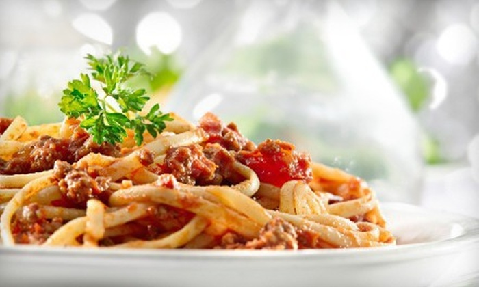 Amici's Italian Restaurant - Downtown Indianapolis: $20 for $40 Worth of Italian Food and Drinks at Amici's Italian Restaurant