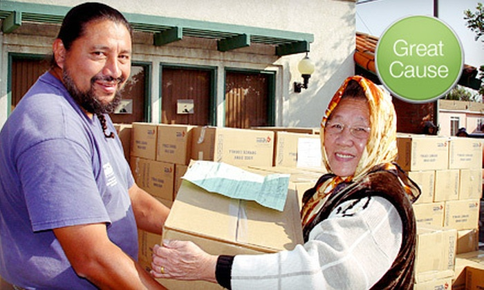 Orange County Food Bank: $15 Donation to Help Feed Underserved People