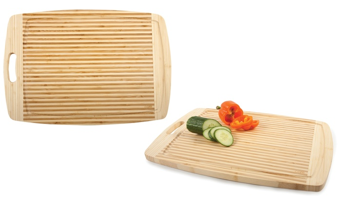 extra large bamboo cutting board groupon. Black Bedroom Furniture Sets. Home Design Ideas