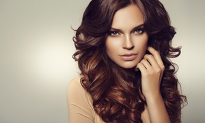 Modern J Hair Cafe: $29 Hair Styling Package, $75 for Milbon Conditioning Repair or $99 for Both with Modern J Hair Cafe (Up to $195 value)