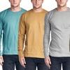 Men's Thermal Waffle-Knit Shirts