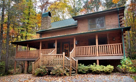 Groupon Deal: 3-Night Cabin Stay for Up to 12 at Mountain Air Cabin Rentals in Greater Pigeon Forge, TN. Combine Up to 6 Nights.