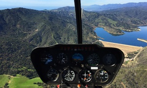 Santa Barbara Helicopter Tours: Santa Barbara Helicopter Tour for Two or Three (Up to 40% Off)