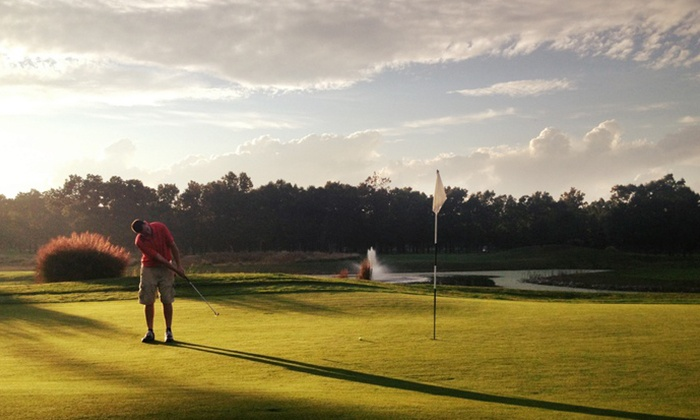 White Oaks Country Club - Newfield: 18-Hole Round of Golf with Cart Rental for Two or Four at White Oaks Country Club (Up to 59% Off)