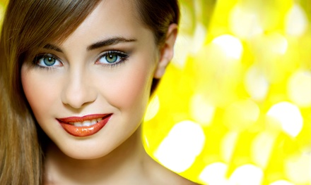 Eyebrow and Lip Waxing or Threading at Vive Beauty Lounge (Up to 50% Off). Two Options Available.