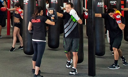 5 or 10 Fitness Classes with Glove Rental at UFC Gym (Up to 83% Off)