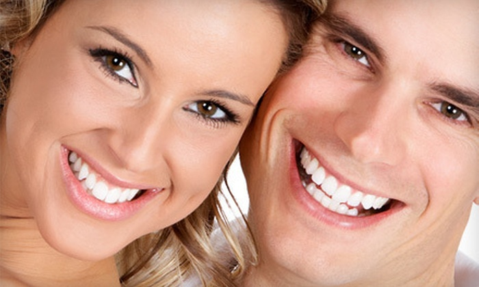 Glamour Spa Boutique - Multiple Locations: $59 for Three In-Office LED Teeth-Whitening Sessions at Glamour Spa Boutique ($285 Value)