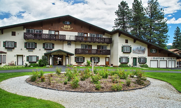 Alpen Rose Inn - Leavenworth, WA: 1 or 2 Nights in a Deluxe Fireplace Room or One-Bedroom Condo for Two at Alpen Rose Inn in Leavenworth, WA