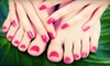 Number 7 Salon And Spa - Fletcher Place: $29 for an Express Mani-Pedi at No.7 Salon and Spa ($64 Value)