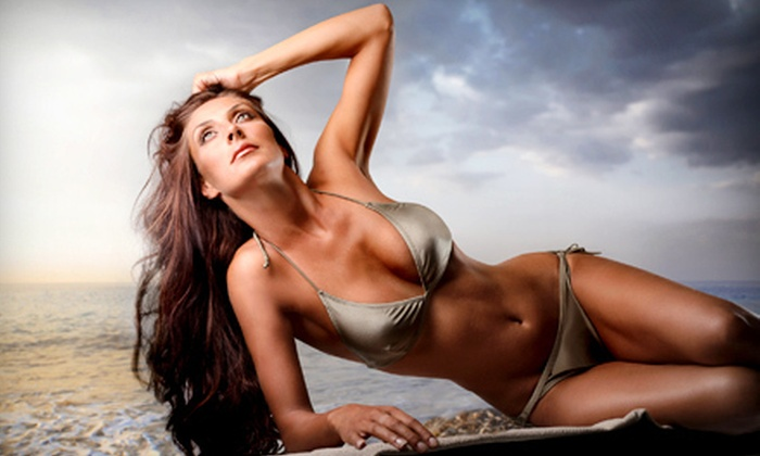 Solar Dimensions - Multiple Locations: One or Three Spray- or UV-Tanning Sessions at Solar Dimensions (Up to 68% Off)