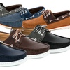 Adolfo Mureno Men's Boat Shoes