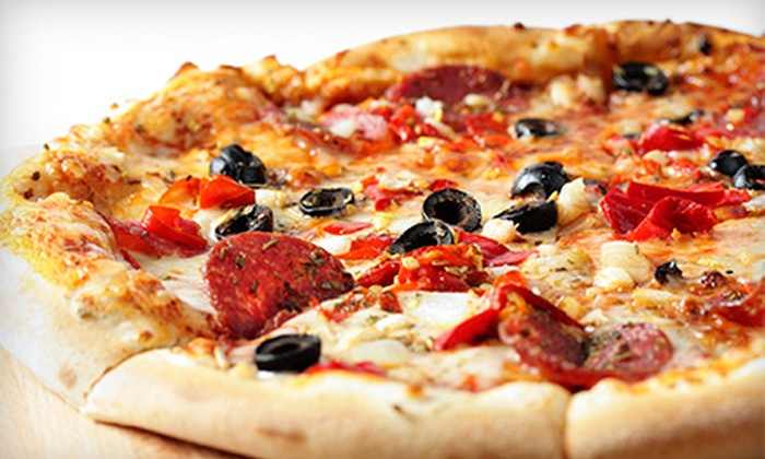 Buonos pizza - Mesa: Pizza, Pasta, and Drinks at Buonos Pizza (Half Off). Two Options Available.