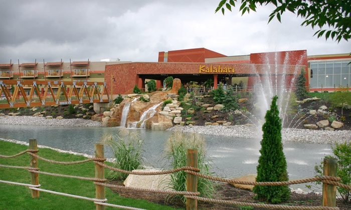 Kalahari Resorts - Sandusky, OH: One- or Two-Night Stay and Water-Park Admission at Kalahari Resorts in Sandusky, OH