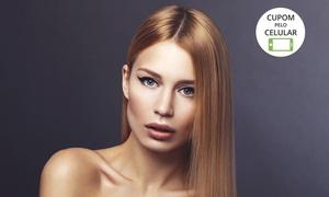Stúdio de Beleza Ellen Lima: Ellen Lima – Centro: cauterização, selagem ou botox capilar (opção com corte, escova modeladora, argan e sobrancelha)