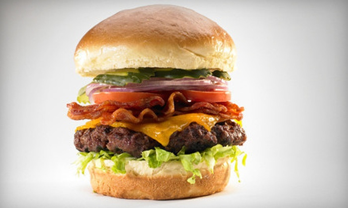 WildBurger - Multiple Locations: $10 for $20 Worth of American Food at WildBurger