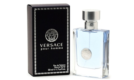 Versace Pour Homme Eau de Toilette for Men (1.7 Fl. Oz.)