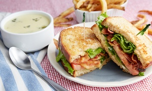 $16 for Sandwiches or Salads for Lunch for Two Moose a'la Mode ($30 value)