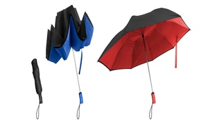 Better Brella Reverse Open/Close Compact Umbrella