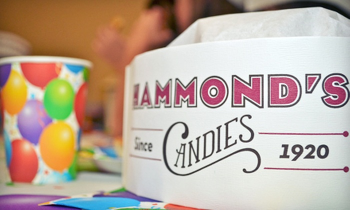 Hammond's Candies - North Washington: $175 for a Birthday Party for Up to 16 with Food, Private Room, and a Factory Tour at Hammond's Candies ($350 Value)