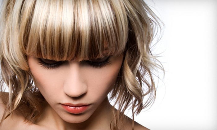 Studio M - East Columbus: Women's Haircut with Optional Color, Partial Highlights, or Full Highlights at Studio M (Up to 67% Off)