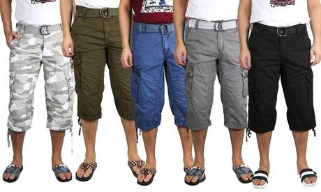 Raw X Men's Turin Cargo Shorts