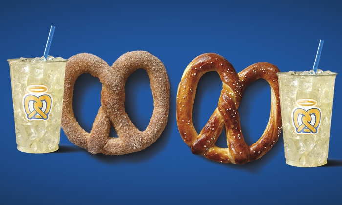 Auntie Anne's - Portland: Pretzels at Auntie Anne's. (Up to 43% Off). Two Options Available.