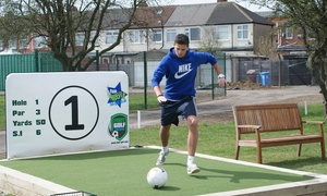 Footgolf Yorkshire: Footgolf Games for Two Children, Two Adults or a Family at Footgolf Yorkshire (Up to 56% Off)
