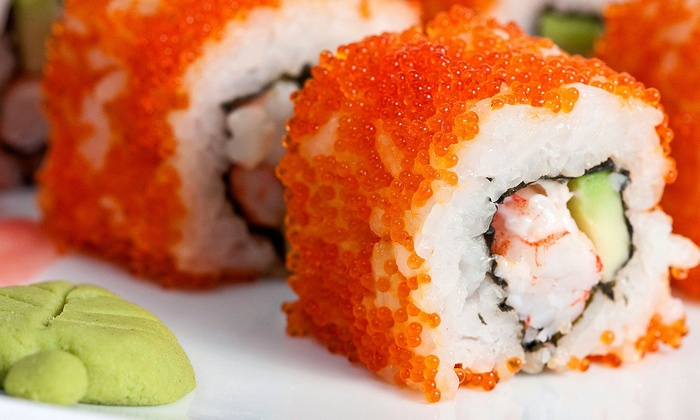 Rolling Moon Sushi - Los Angeles: Sushi and Asian Cuisine for Two or Four at Rolling Moon Sushi (Up to 52% Off)